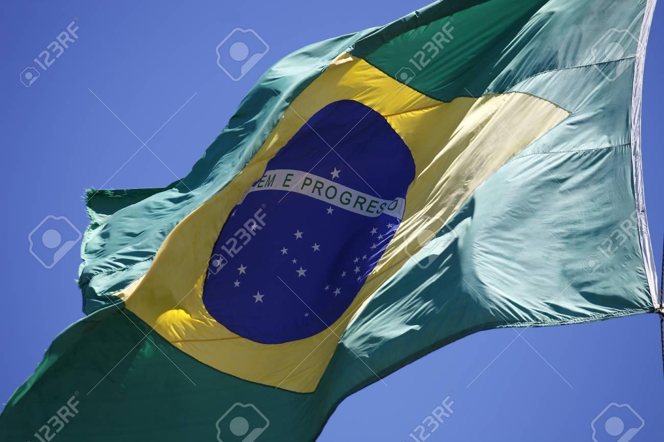 Rio De Janeiro Brazil Flag