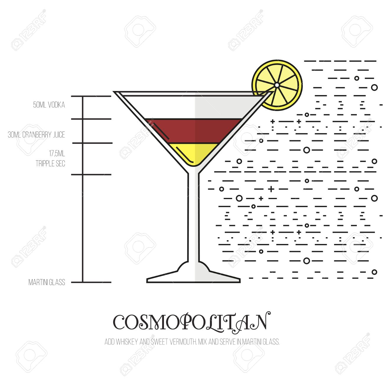 Cosmopolitan thin flat line style cocktail recipe simple cosmopolitan thin flat line style cocktail recipe simple instructions on how to prepare the sisterspd