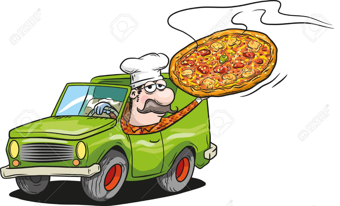 Pizza delivery - 34895662