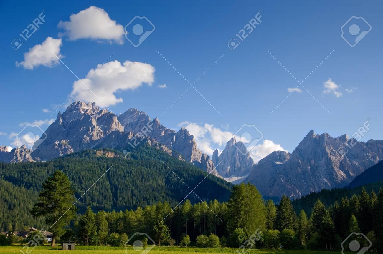 Dolomiti muntains landscape, from north Italy Stock Photo - 8292147