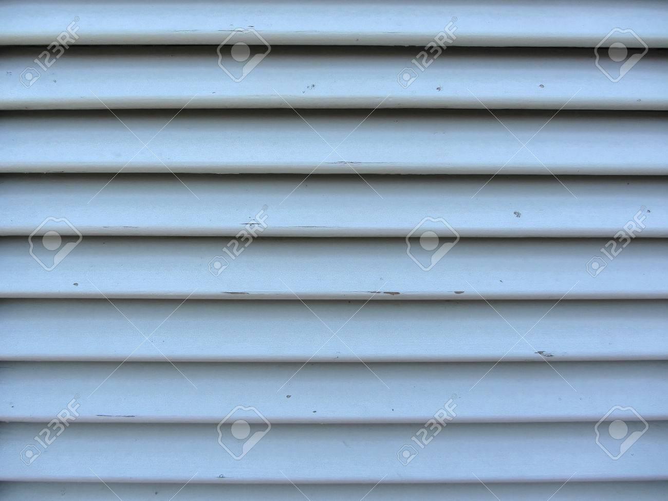 Fenêtre Jalousie Ancien Avec Des Lattes De Bois Gris Texture Peint