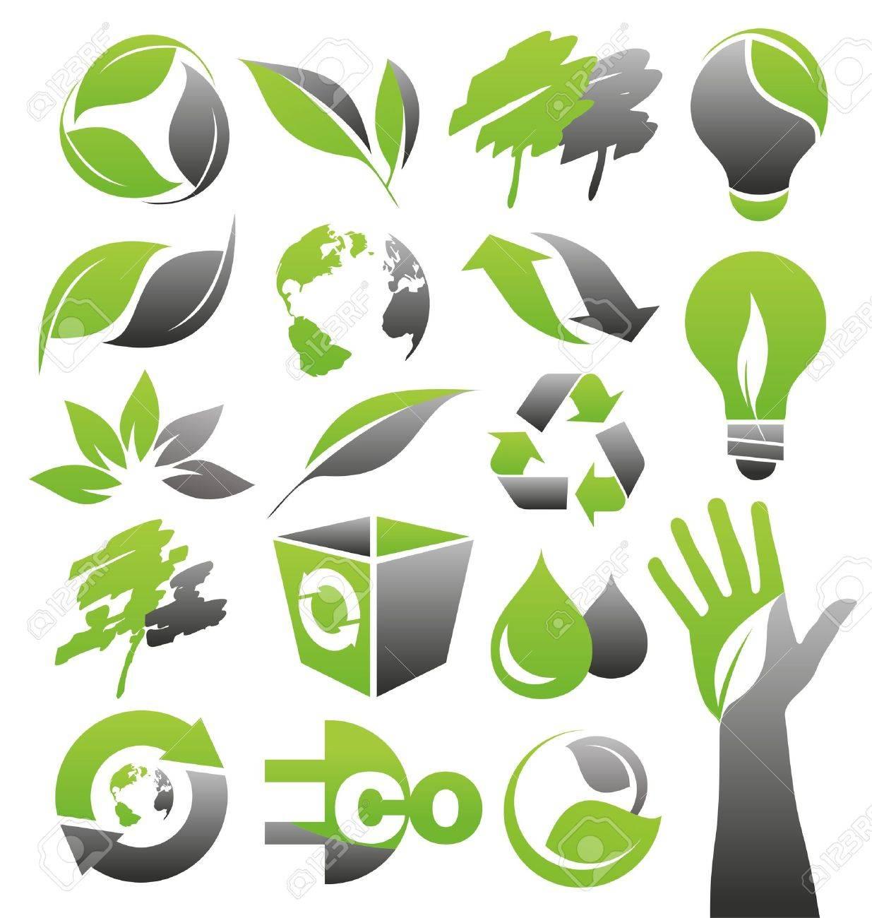 tree logo cliparts stock vector and royalty tree logo tree logo ecology green icons vector set