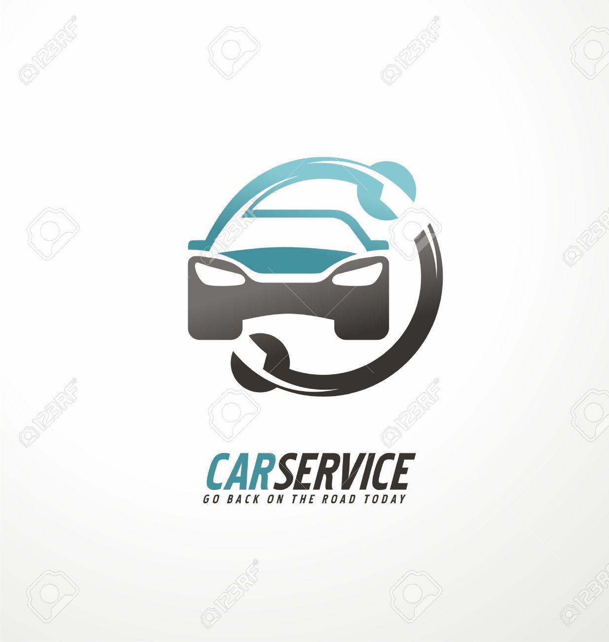 Car abstract vector design concept - 55265049