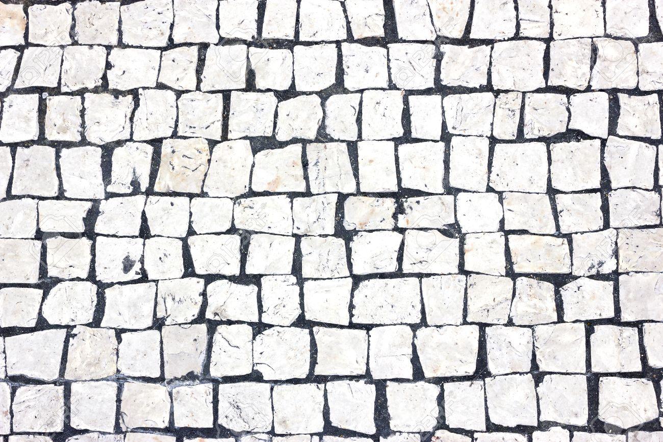 suelo de piedra blanca foto de archivo