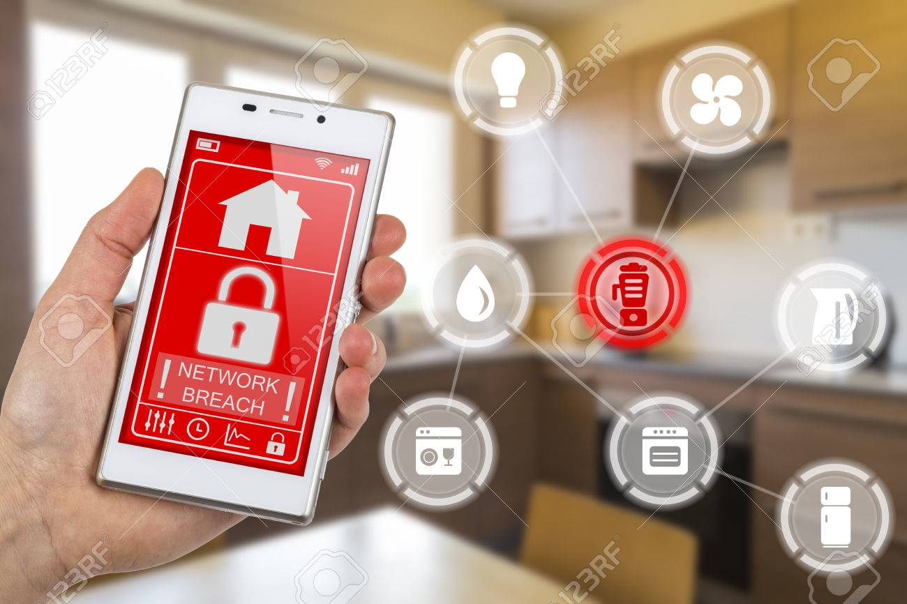 Internet of things hacked network
