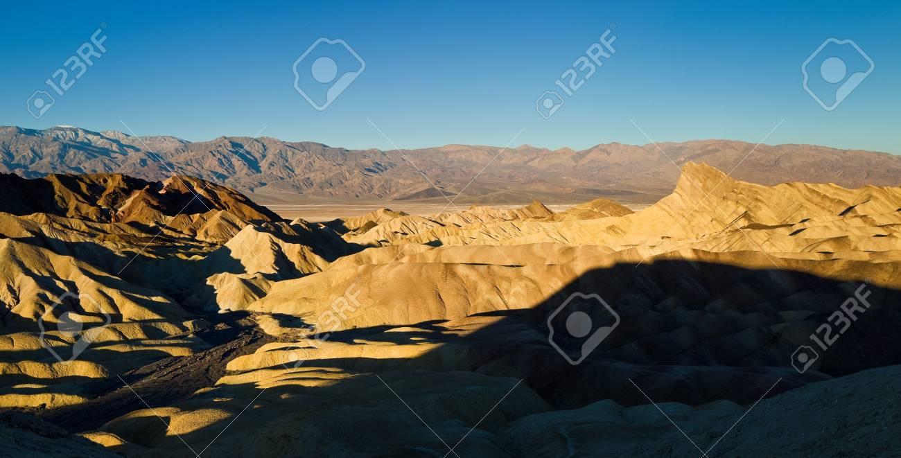 Zabriskie Point, Death Valley, California Stock Photo - 9185168