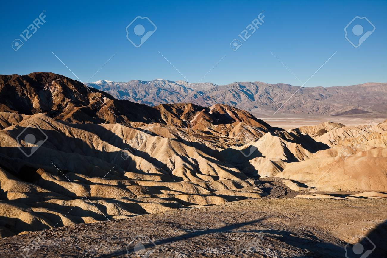 Zabriskie Point, Death Valley, California Stock Photo - 9184965