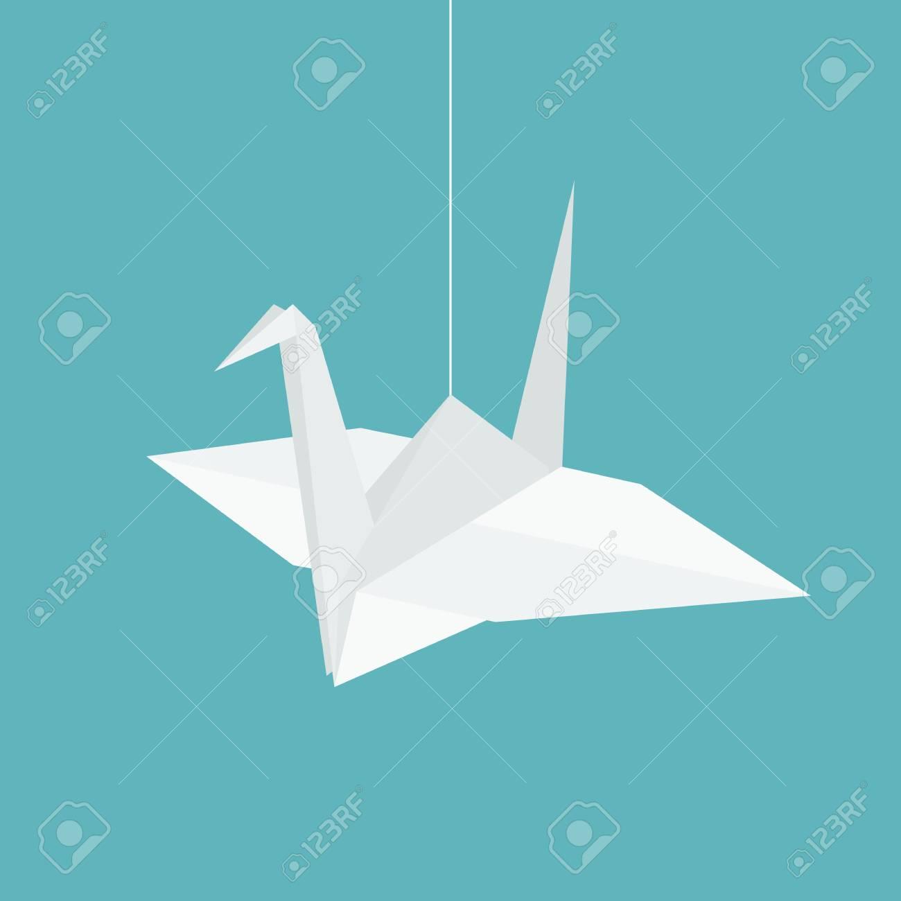 Origami Flying Bird Image & Photo (Free Trial) | Bigstock | 1300x1300