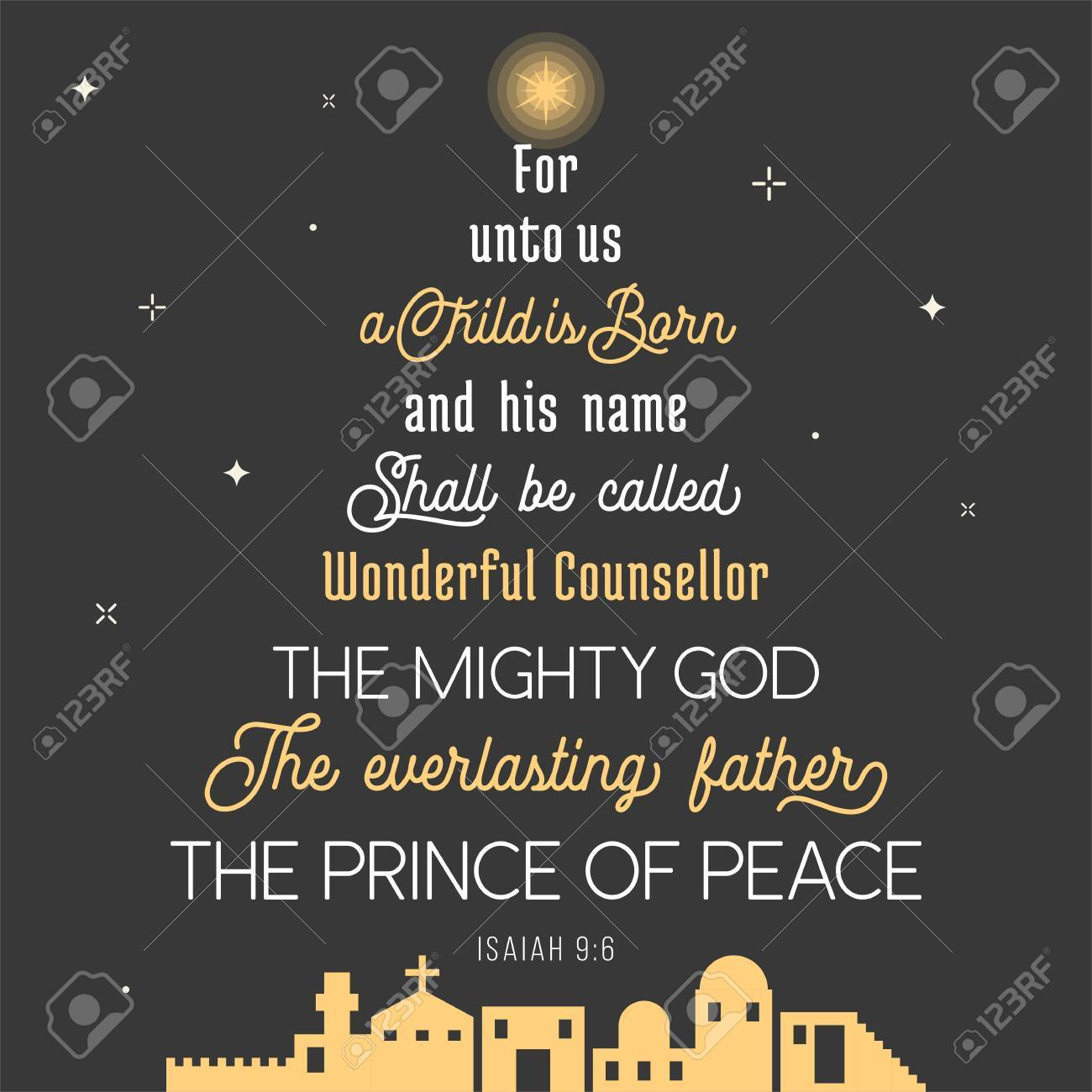 Bible Quotes About Peace Typography Of Bible Verse From Chronicles For Christmas For