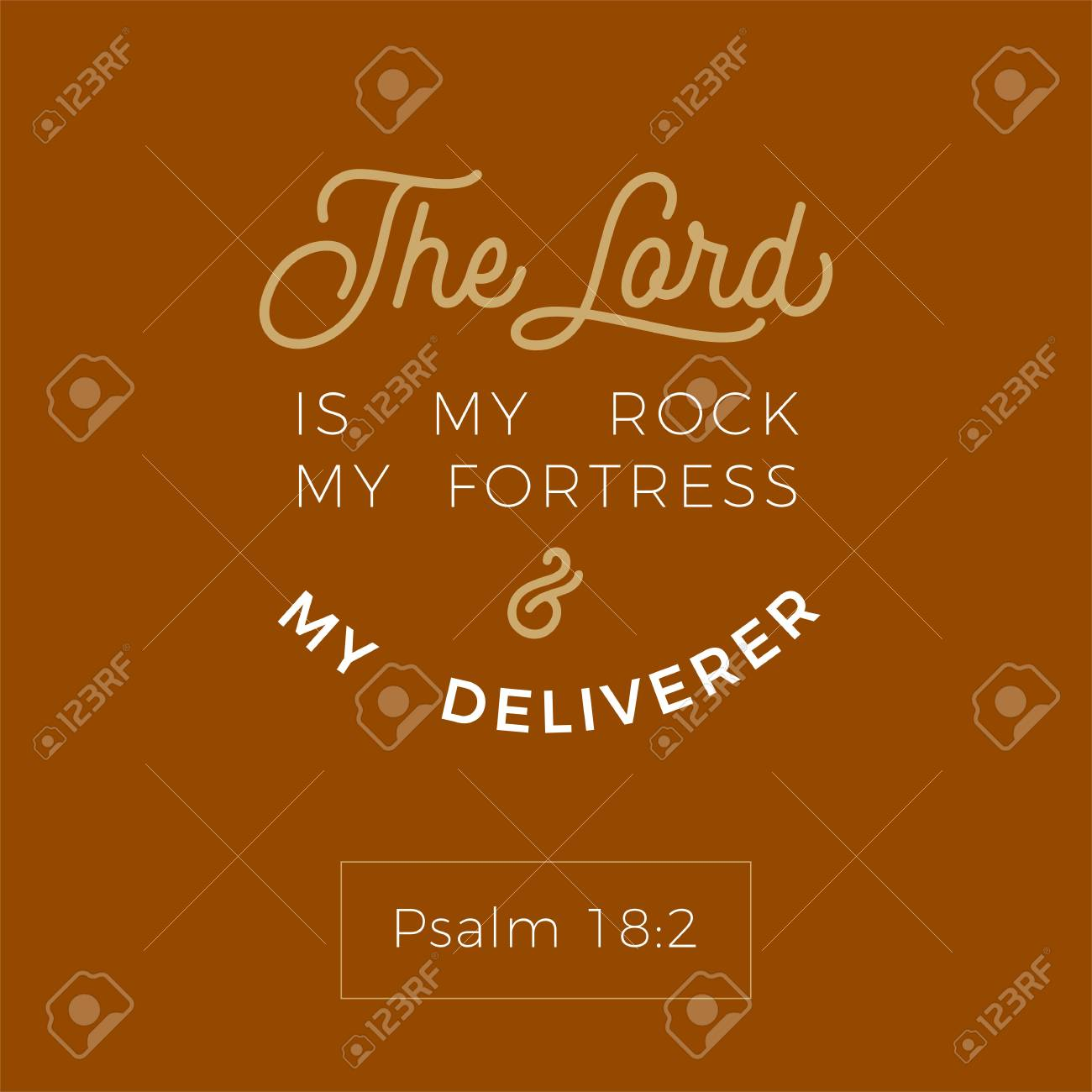 biblical scripture verse from psalm,the lord is my rock my fortress