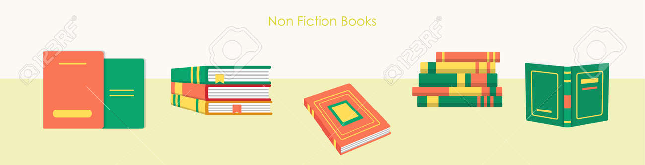 Pile of book education material and literature set - 168346713