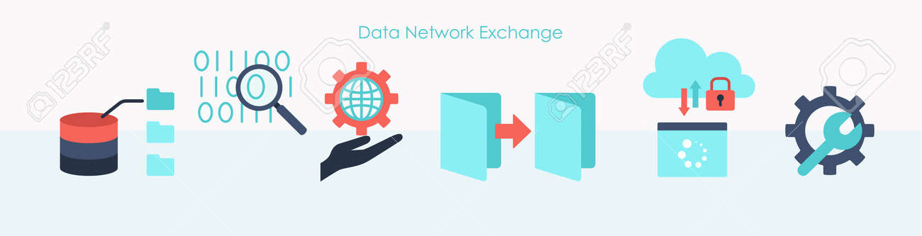 Highly protected data network elements flat set - 170260486