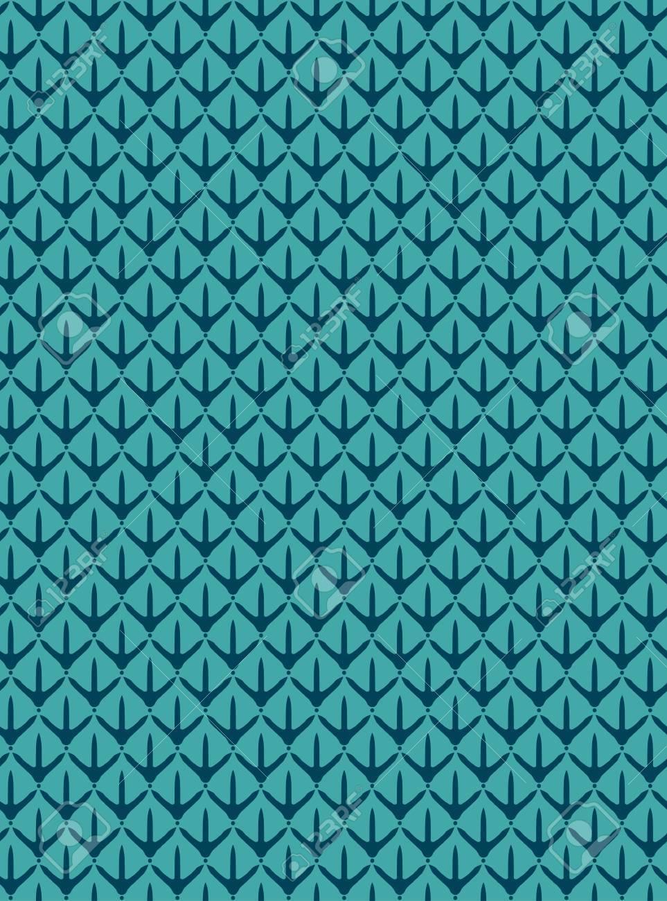 Chicken Paw Seamless Pattern Printing On Fabric Wallpaper