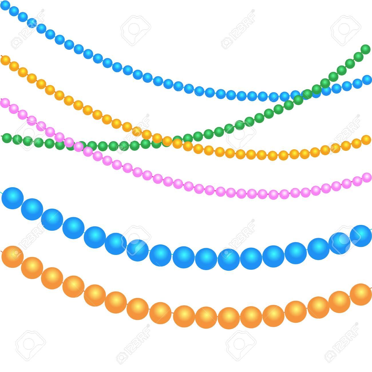 Granos Multicolores Para La Decoración Festiva Para Las Fiestas De ...