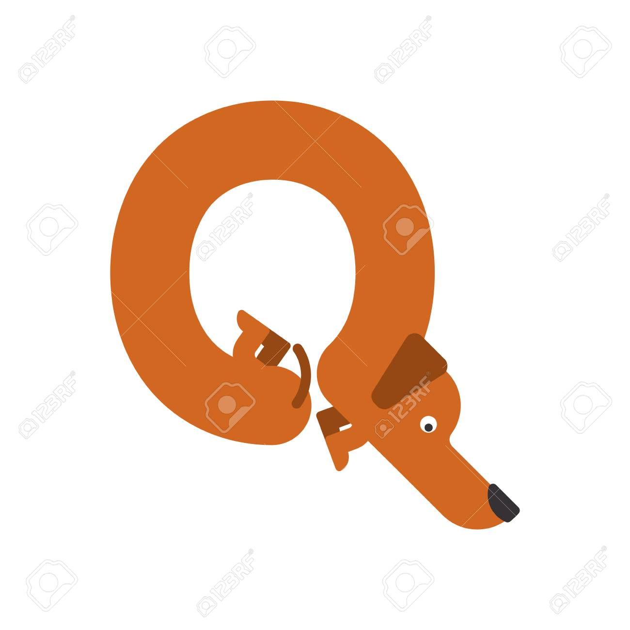 Letter q dog illustration royalty free cliparts vectors and stock letter q dog illustration stock vector 84949808 buycottarizona Image collections