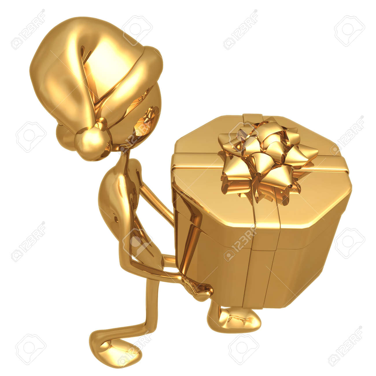 Carry Holiday Present Stock Photo - 820999