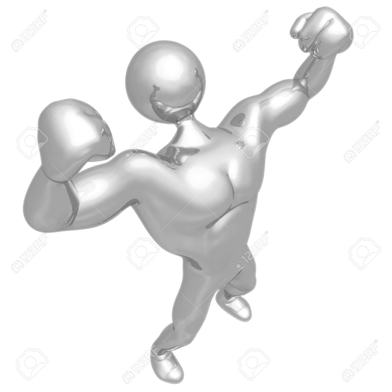 Strong Man Body Builder Stock Photo - 4380081
