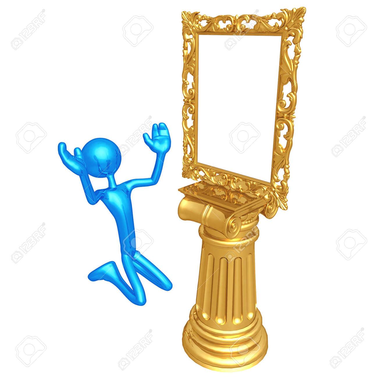 Art Frame Idol Stock Photo - 4429210