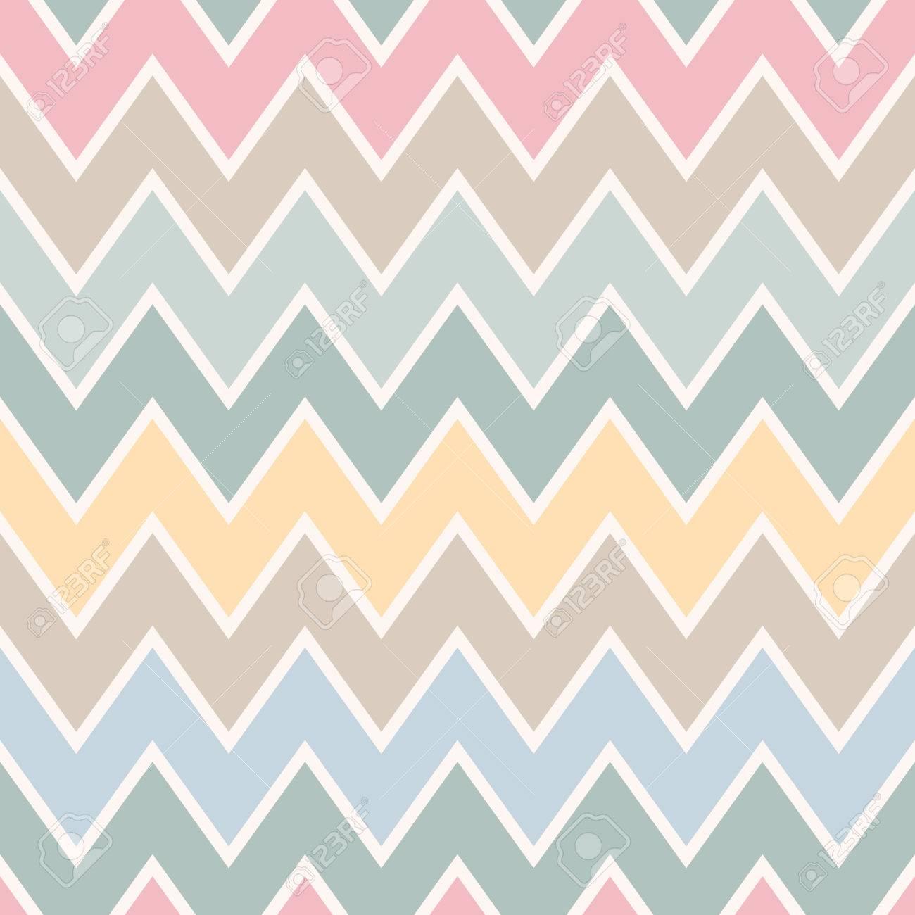 Geométricas Románticas Patrones De Costura (zigzags, Crankles ...