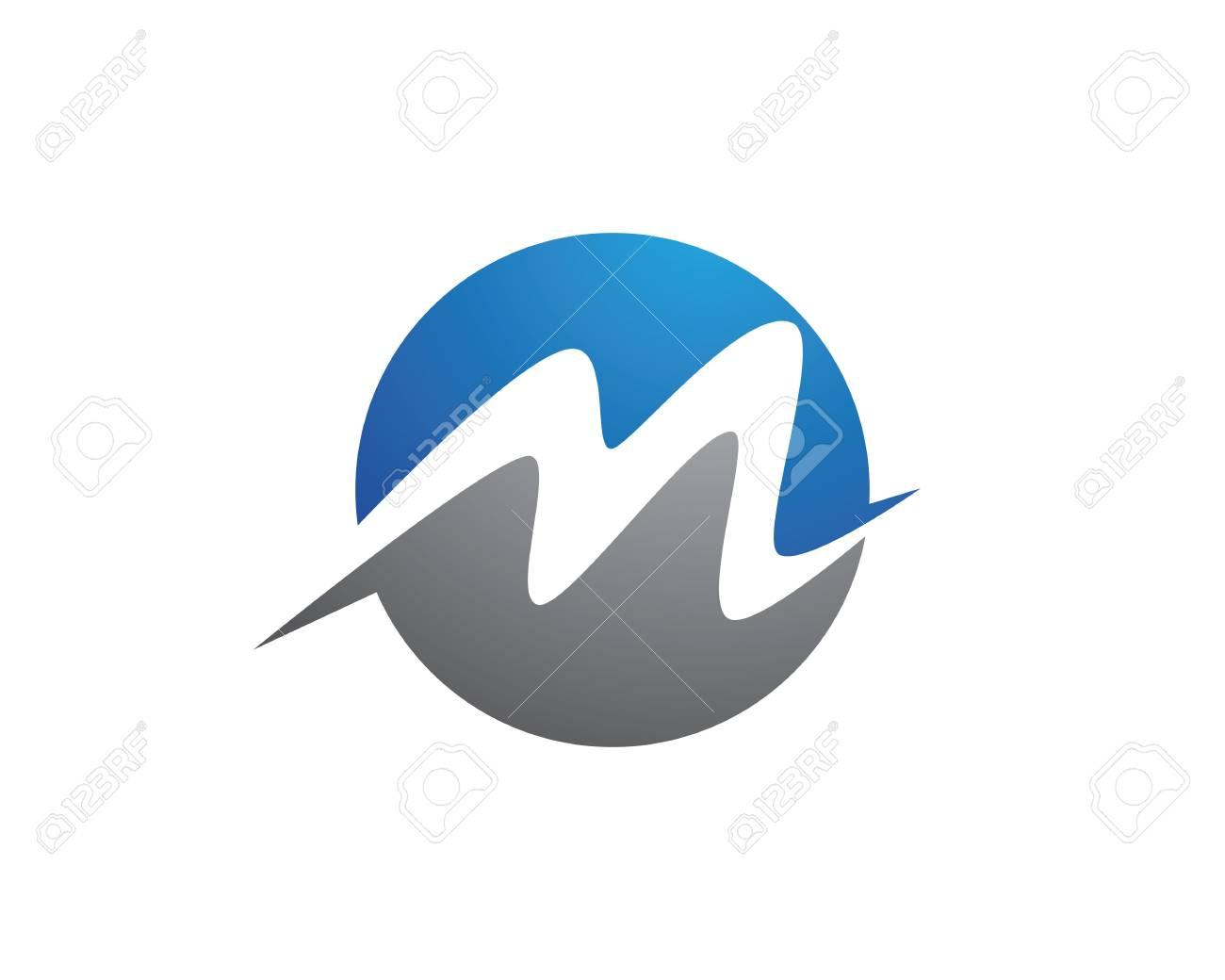 M Letter Logo Template - 63516542