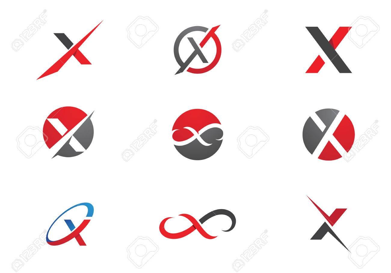 X Letter Logo Template - 67439766