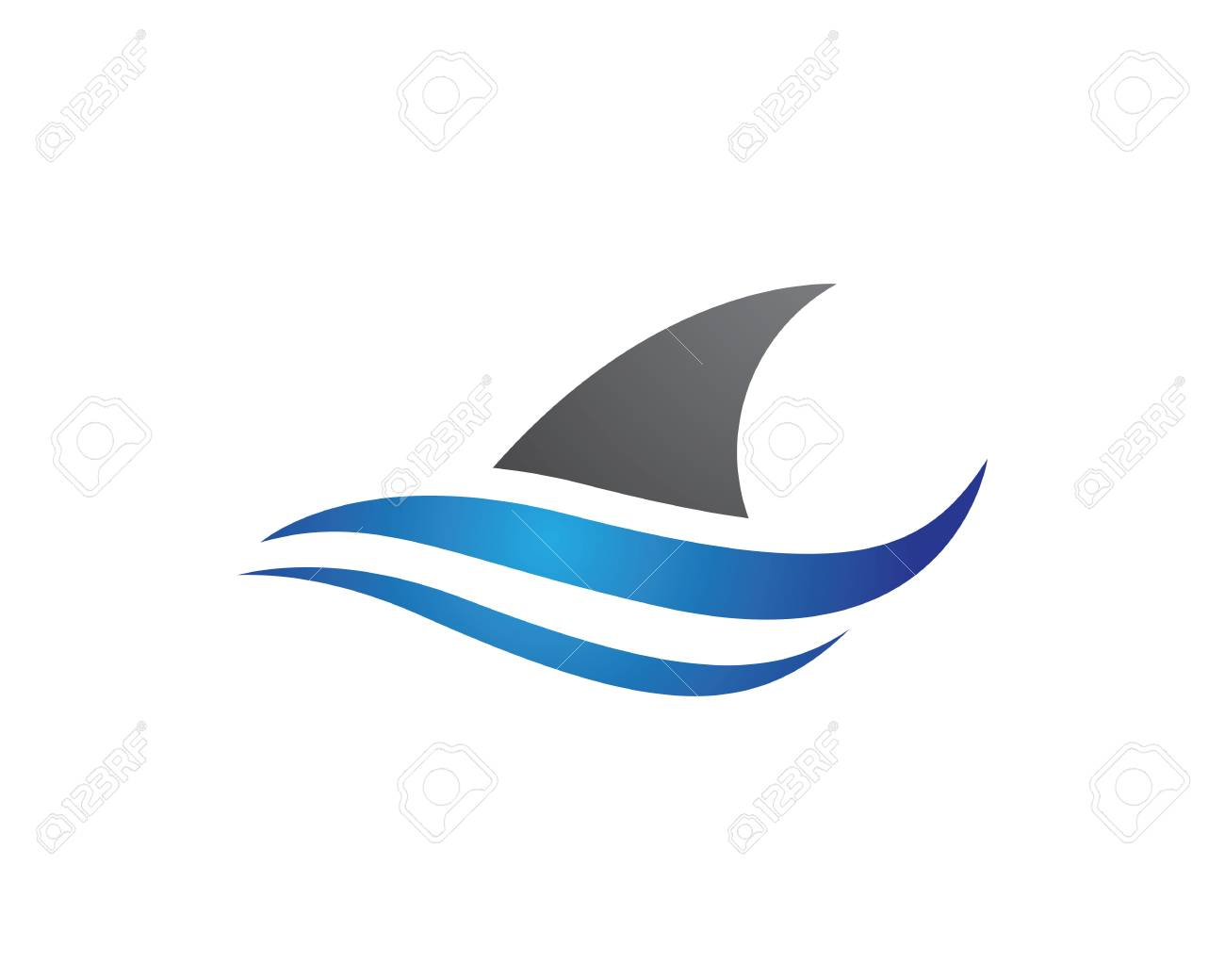 Shark Template Royalty Free Cliparts, Vectors, And Stock ...