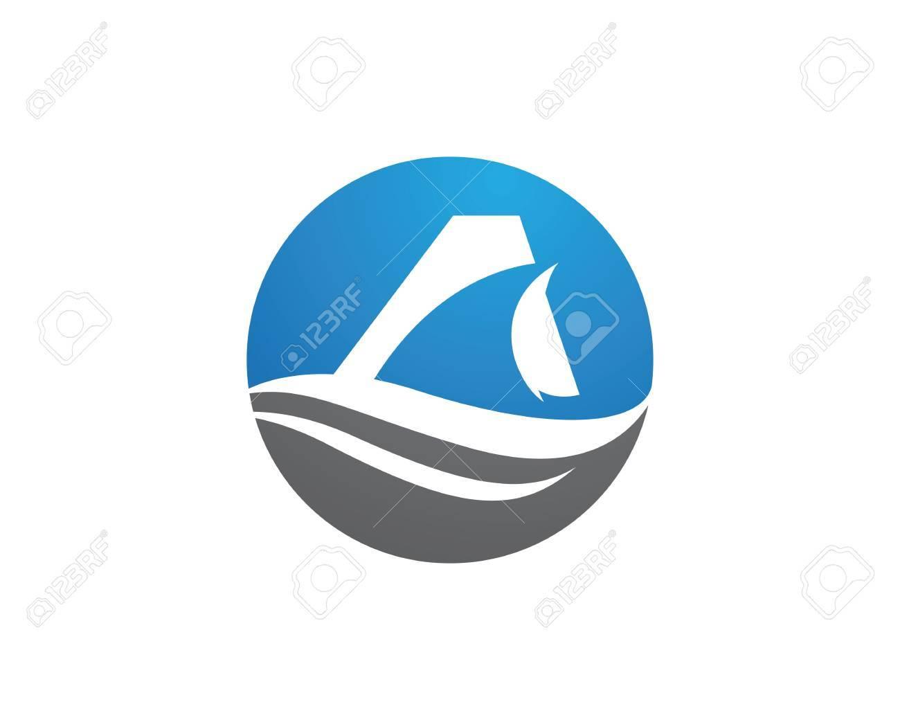 Plantilla Del Logotipo Del Tiburón Ilustraciones Vectoriales 7233461cae14b