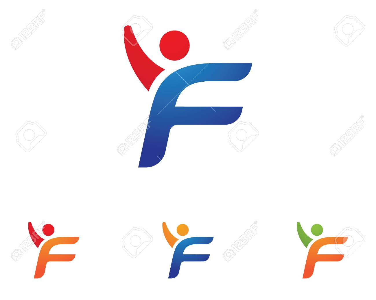 Fun people Healthy Life Logo template vector icon - 73449353
