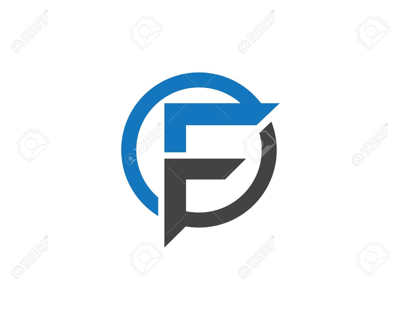 F Letter Logo Business professional logo template - 73339393