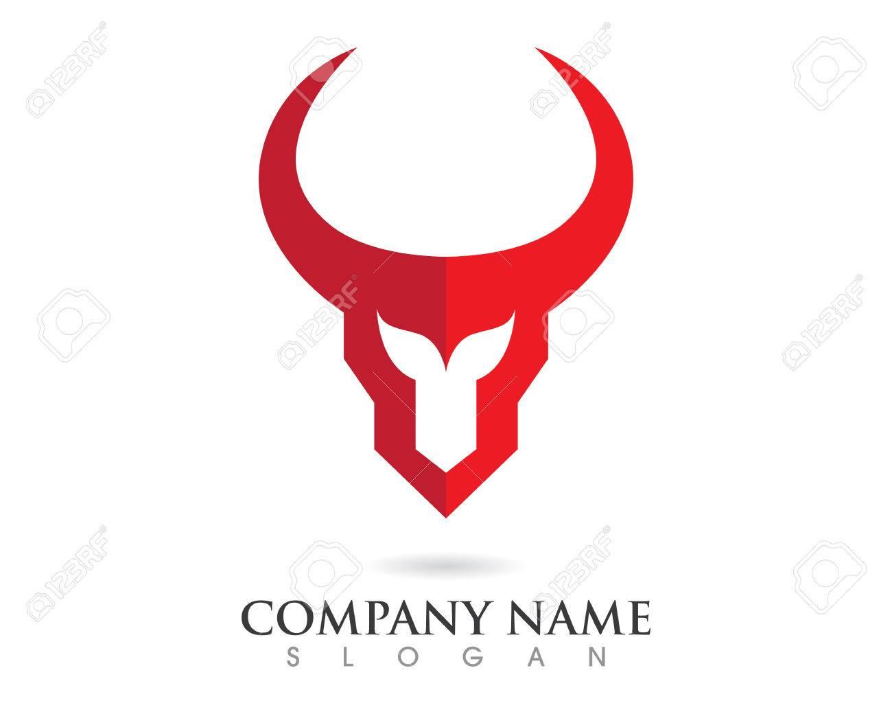 red bull taurus logo template vector icon illustration royalty free rh 123rf com taurus logo pistol grips 1911 taurus logo pistol grips