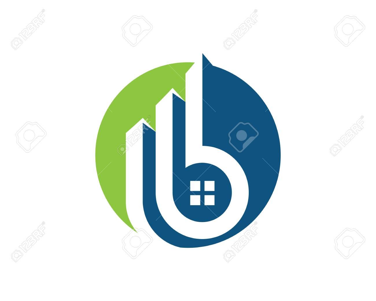 Logo De La Propriete Template Real Estate Conception De Logo