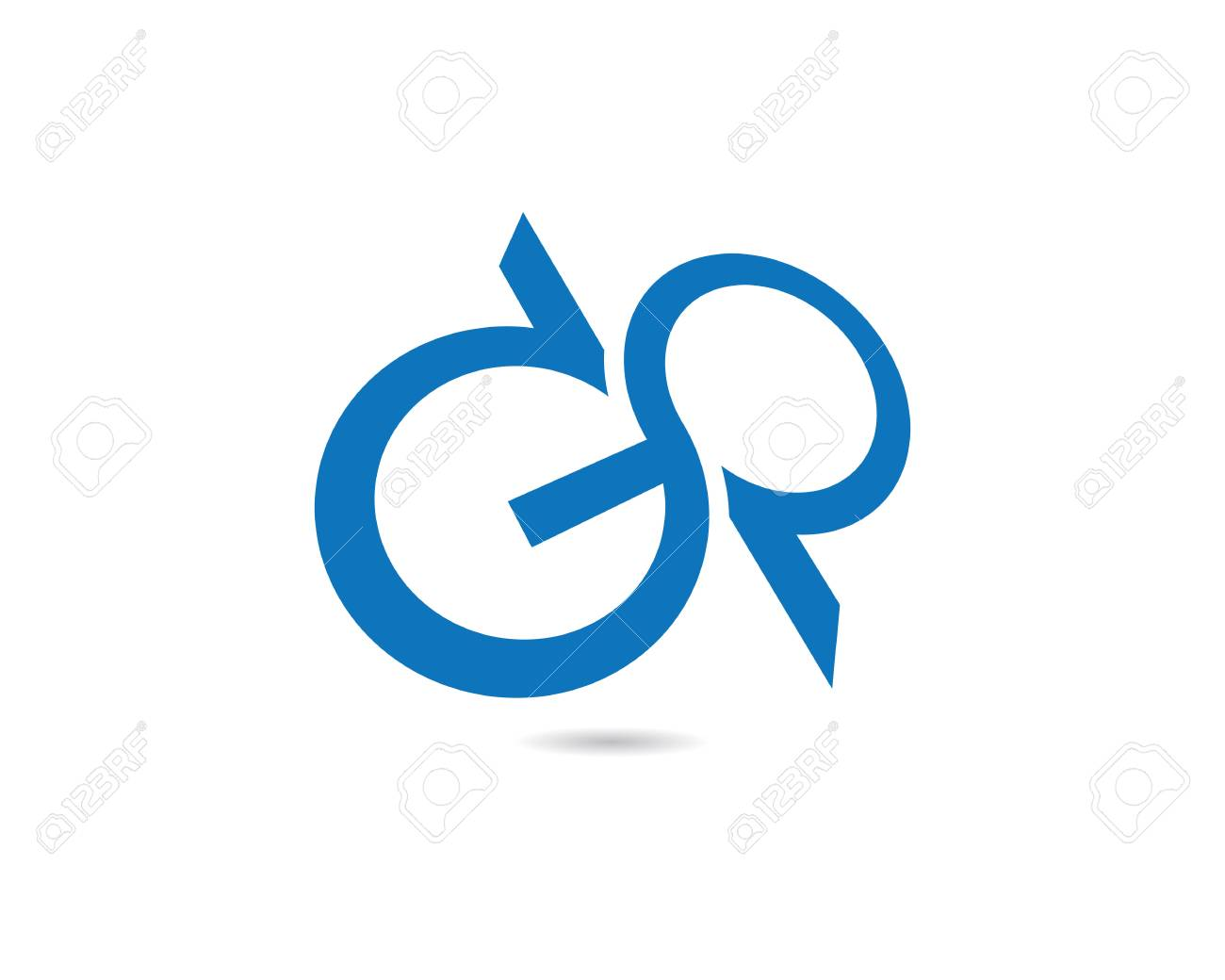 Infinity Logo Template Royalty Free Cliparts Vectors And Stock