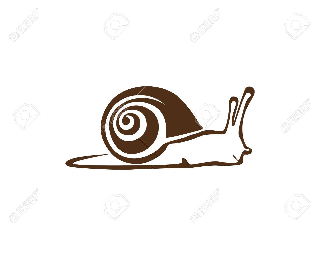 snail logo template royalty free cliparts vectors and stock