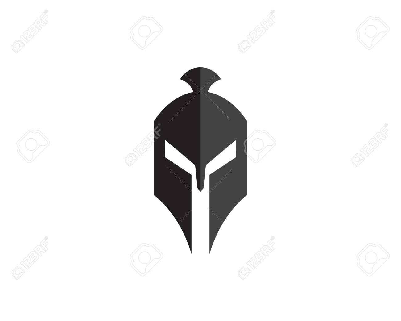 0945467387e36 Vector sign. Spartan helmet logo template vector icon Stock Vector -  74869907