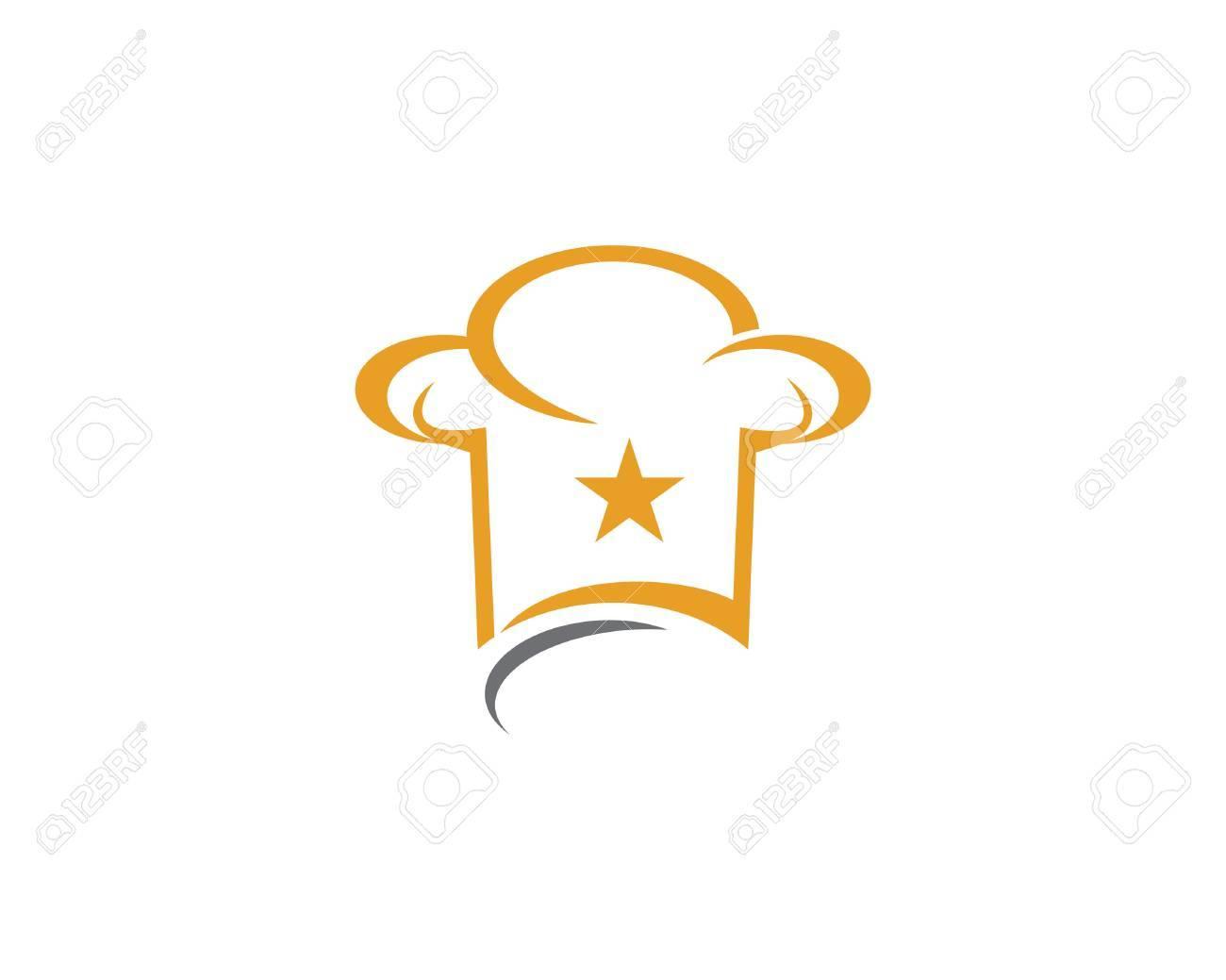 Chef logo template vector icon - 75878250