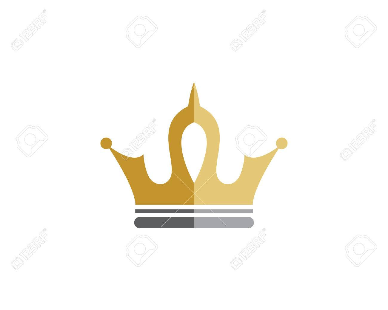 crown logo template royalty free cliparts vectors and stock rh 123rf com free vector crown of thorns free vector crown download