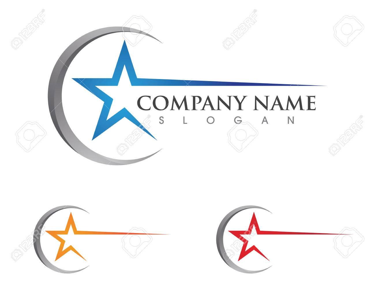 Star Logo Template vector icon illustration design - 76672777