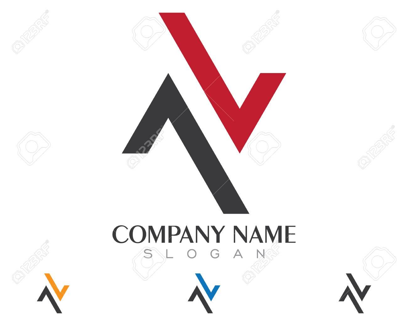 N Letter Logo Template - 82913543