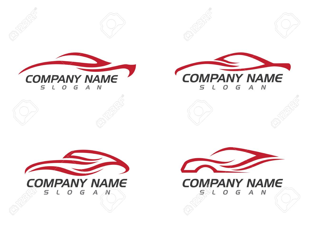 Auto Car Logo Template Royalty Free Cliparts Vectors And Stock
