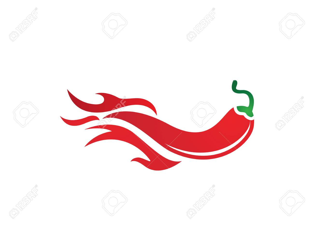 chili logo template in a red hot concept royalty free cliparts rh 123rf com chili pepper coloring pages chili pepper mascot adult