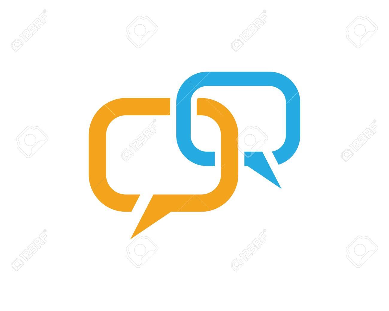 359e3372f1f1ed Speech bubble icon Logo template vector illustration Stock Vector - 85190270