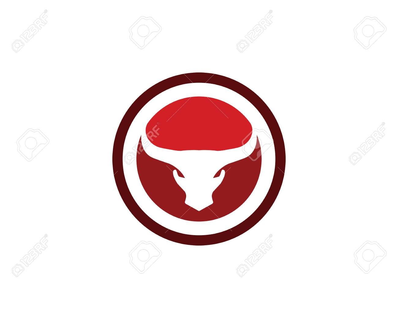 taurus logo template royalty free cliparts vectors and stock rh 123rf com taurus logo tattoo taurus logo fonts