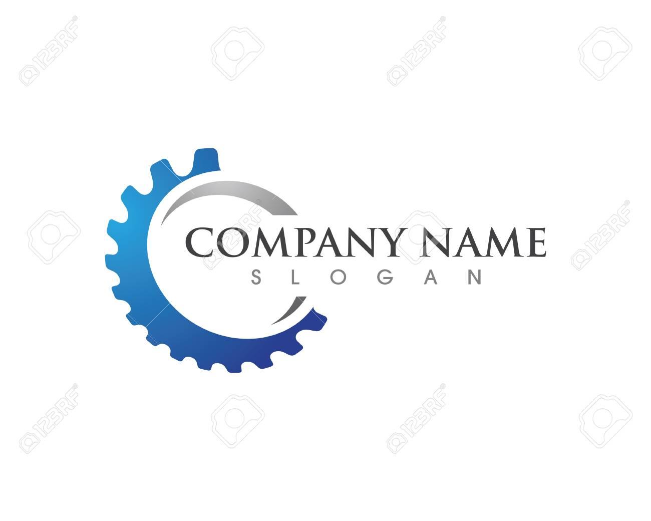 Gear Logo Template vector icon illustration design - 91103654