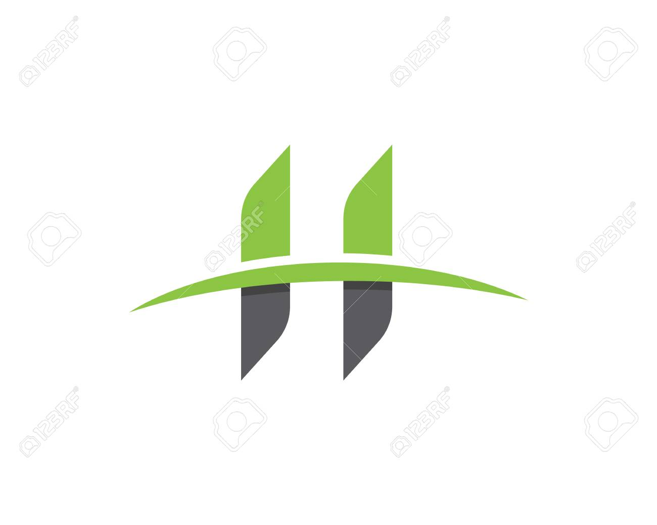 H Letter Logo Business Professional Logo Template Royalty Free ...