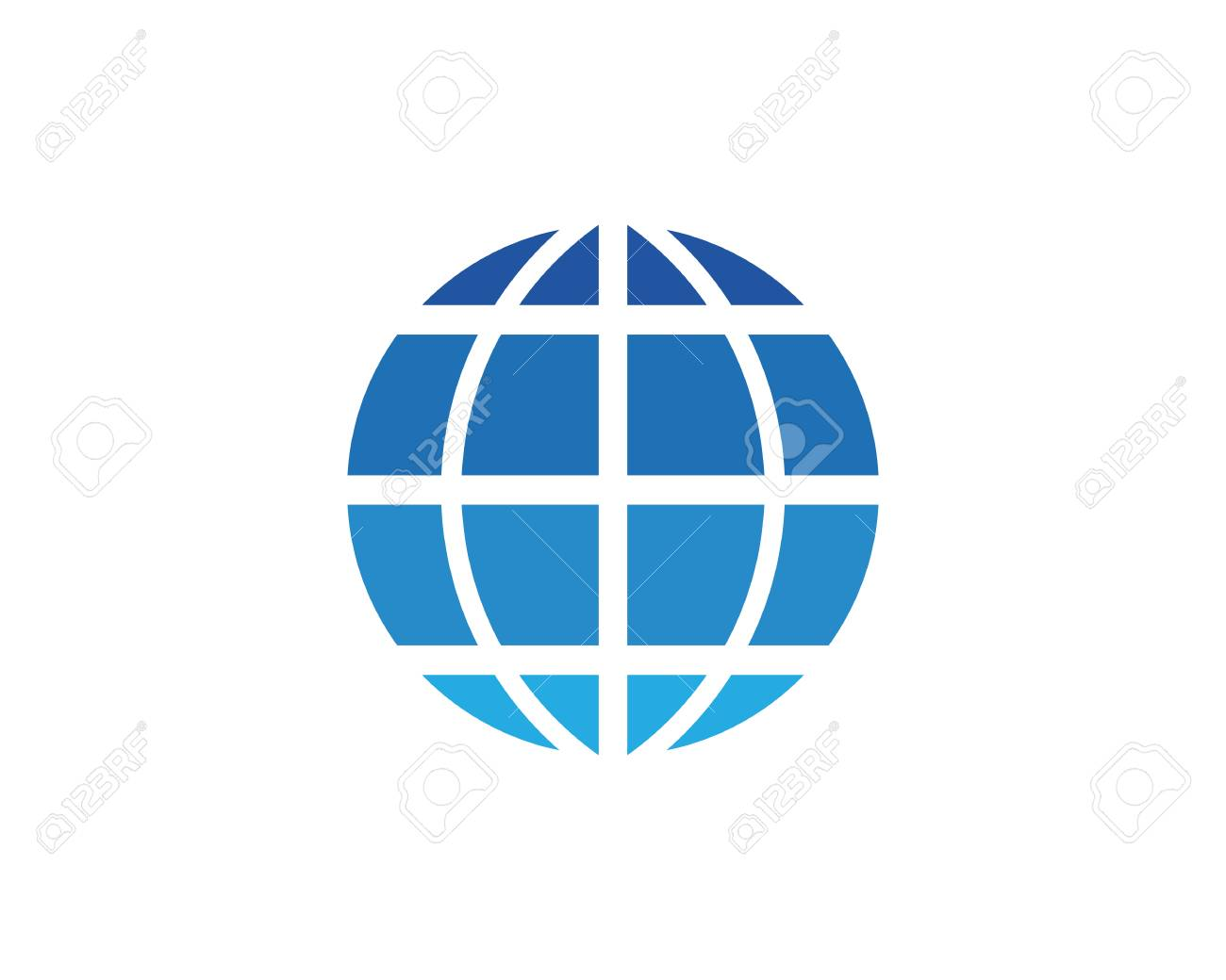 Wire World Logo Template Vector Illustration Royalty Free Cliparts ...