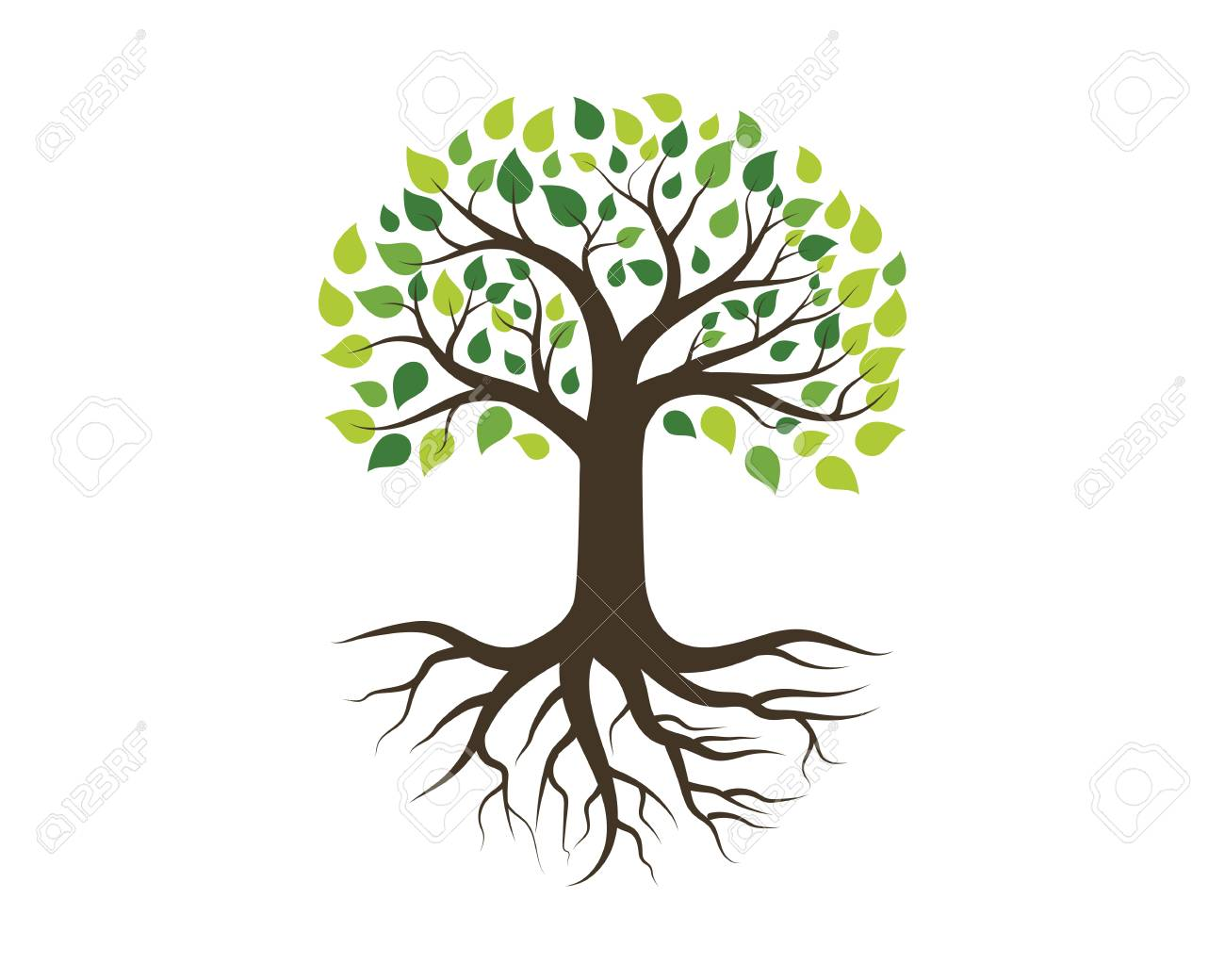 Tree icon template vector illustration design - 99333989