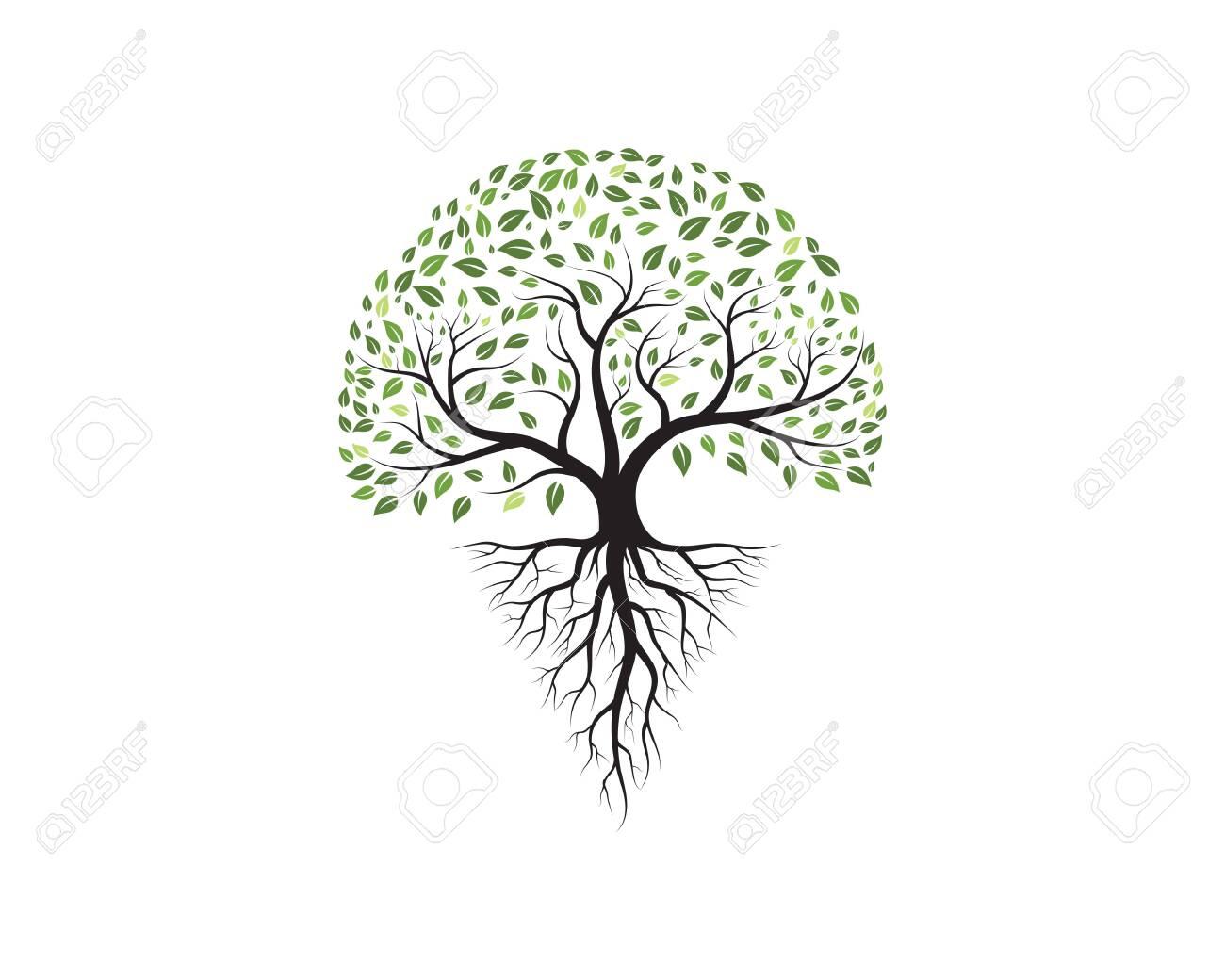 Tree icon template vector illustration design - 99333988