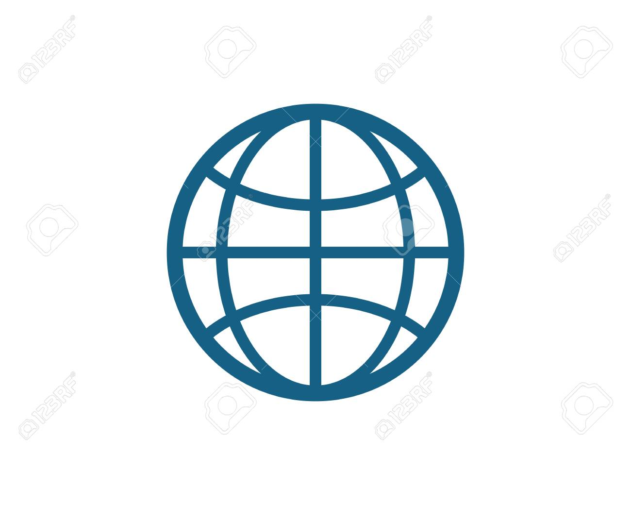 Wire World Logo Template Vector Icon Illustration Royalty Free ...