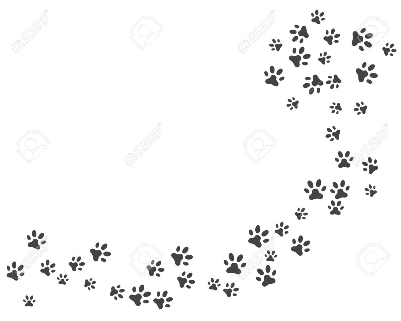 Paw icon vector illustration design logo template - 106357336