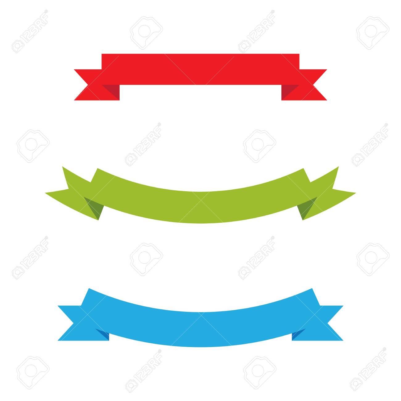 Ribbon banner Vector illustration design template - 128259405